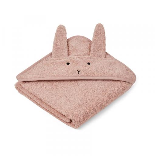 Toalla bebé Rabbit rosa -...