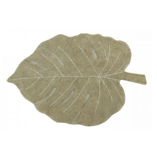 Alfombra lavable Monstera...