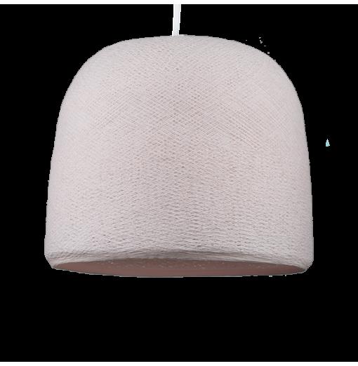 Lámpara Cloche rosa nude  -...