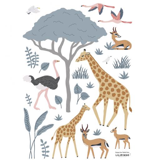 Vinilo animales salvajes -...
