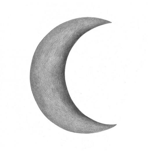 Vinilo Crescent Moon gris -...