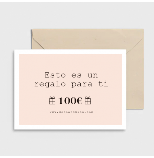 cTarjeta regalo 100€