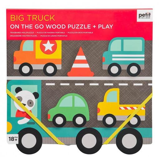 Puzzle de madera encajable...