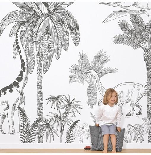 Mural de pared Dinosaurios...