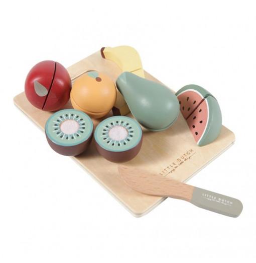 Frutas de madera para...