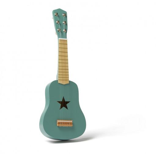 Guitarra de juguete verde -...