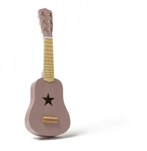 Guitarra de juguete lila -...