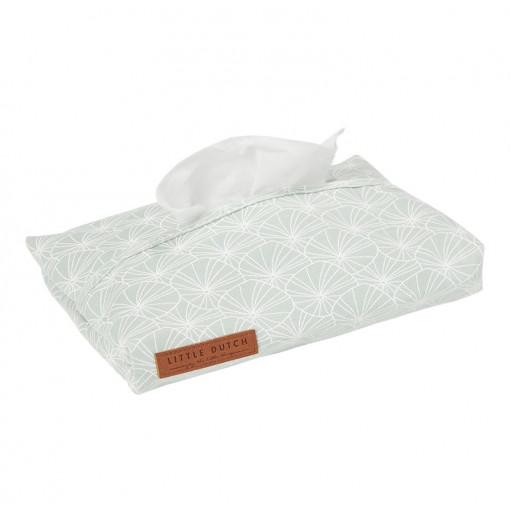 Funda toallitas Leaves mint...