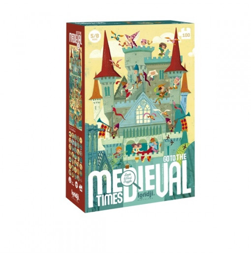 Puzzle Go to Medieval Times...