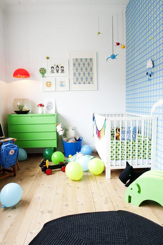 Decoracion Vintage Habitacion Infantil ~ infantiles es una forma muy original de decorar una pared infantil