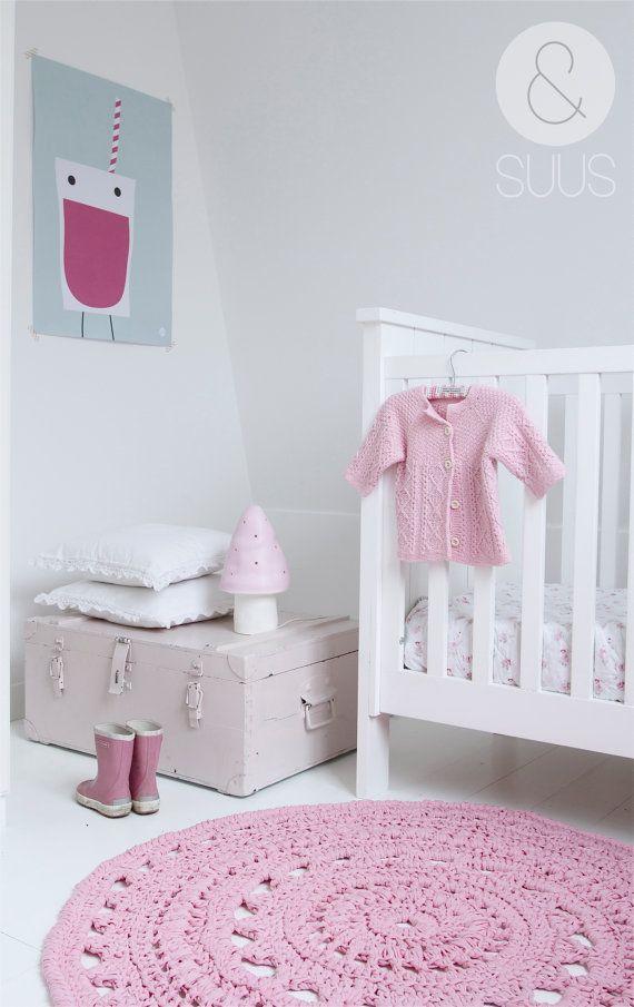 decorar una habitaci n infantil en rosa deco kids. Black Bedroom Furniture Sets. Home Design Ideas