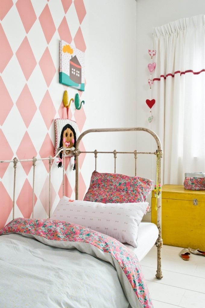 Decorar una habitaci n infantil en rosa deco kids - Habitacion infantil rosa ...