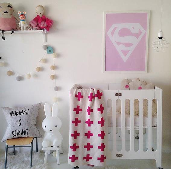 Decorar una habitaci n infantil en rosa decoraci n - Decoracion habitacion rosa ...