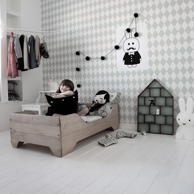 4 habitaciones infantiles de estilo n rdico deco kids for Habitacion infantil estilo nordico