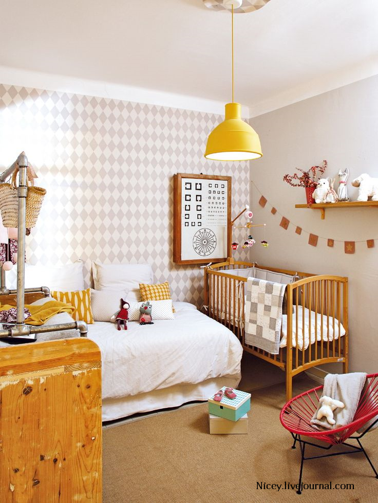 Decorar con papel pintado harlequ n deco kids - Decorar dormitorio con papel pintado ...