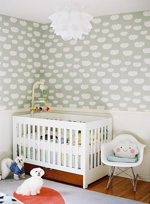 Deco kids blog de decoraci n infantil cosas bellas para - Habitacion bebe papel pintado ...