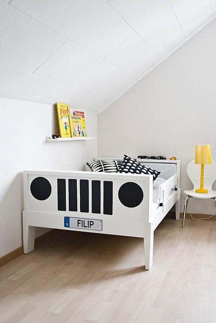 IKEA HACK: transforma una cama infantil en un Jeep