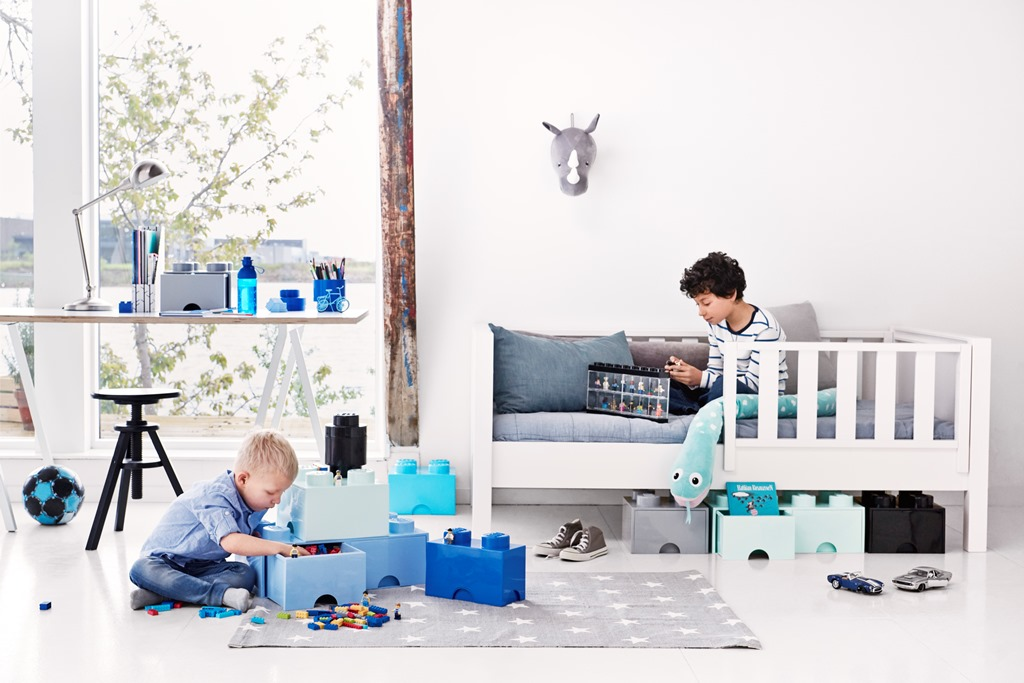 Orden Con Las Cajas De Almacenaje De Lego Deco Kids