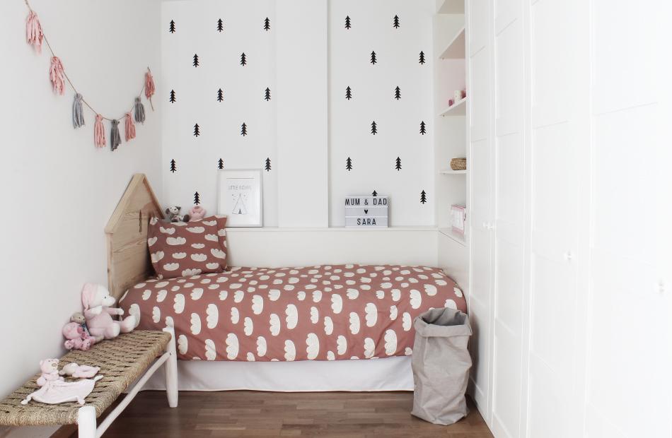 Una habitación infantil que inspira naturaleza
