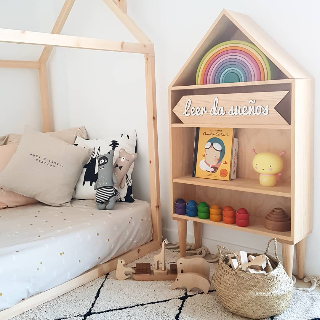 El paraíso Montessori de la pequeña Jana