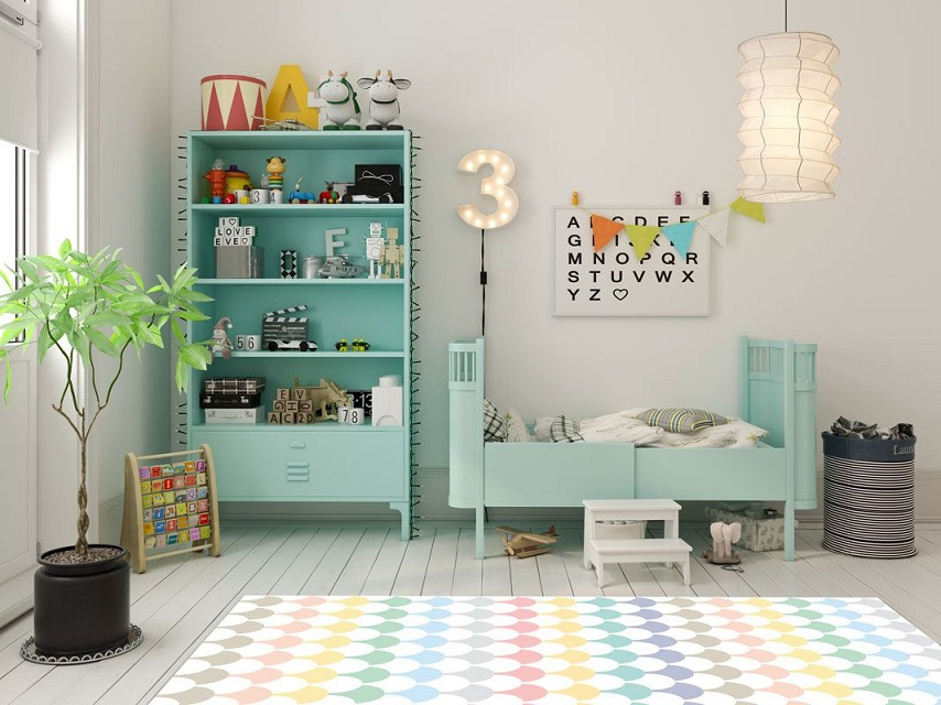 Alfombras vinílicas para habitaciones infantiles: mil y un beneficios en un solo producto