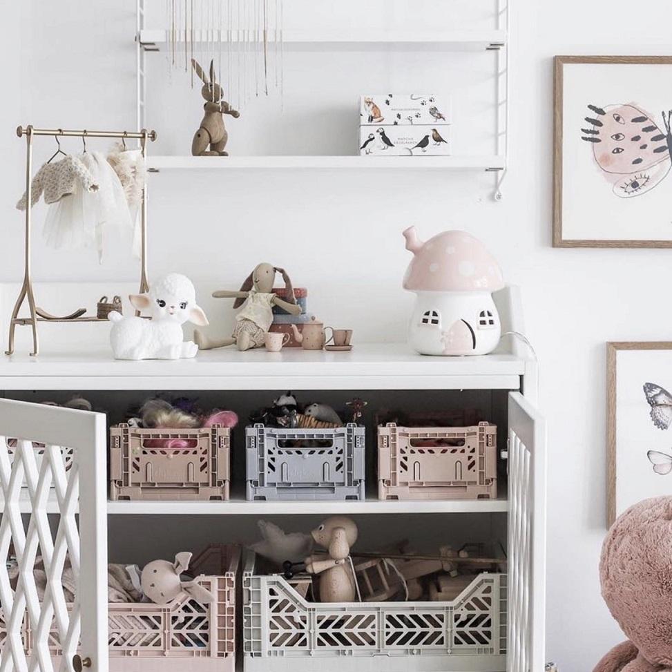 Consejos para mantener ordenadas habitaciones infantiles pequeñas